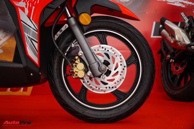 Benelli VZ125i giá 29,8 triệu đồng - đối thủ Honda Vision và Yamaha FreeGo chính thức ra mắt tại Việt Nam - Ảnh 5.