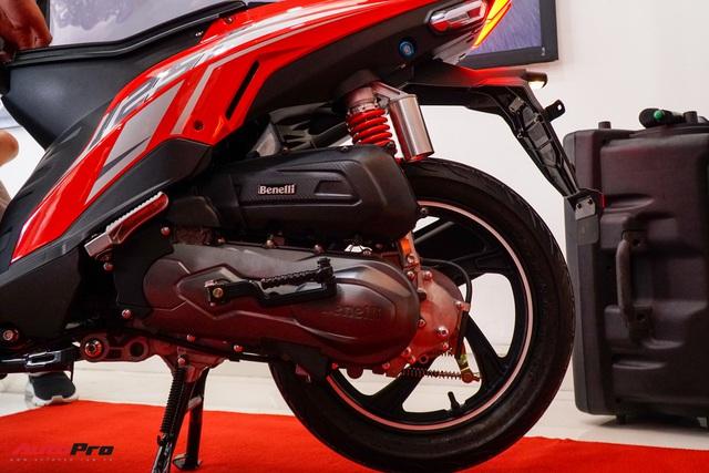 Benelli VZ125i giá 29,8 triệu đồng - đối thủ Honda Vision và Yamaha FreeGo chính thức ra mắt tại Việt Nam - Ảnh 10.