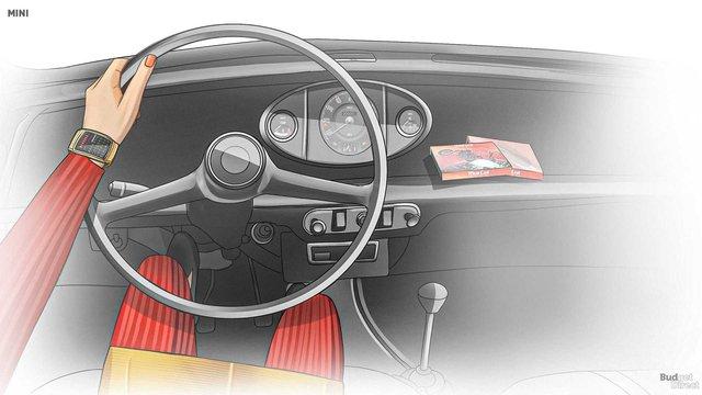 Xem nội thất MINI Cooper tiến hóa qua hàng chục năm qua: Từ không có gì tới quá phức tạp - Ảnh 4.
