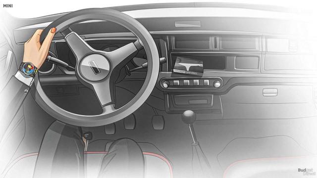 Xem nội thất MINI Cooper tiến hóa qua hàng chục năm qua: Từ không có gì tới quá phức tạp - Ảnh 5.