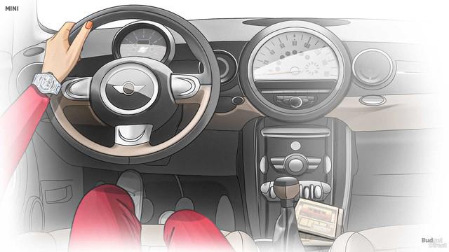 Xem nội thất MINI Cooper tiến hóa qua hàng chục năm qua: Từ không có gì tới quá phức tạp - Ảnh 8.