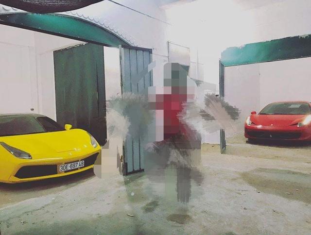 Chiếc Ferrari 458 Italia với hành tung bí ẩn bất ngờ xuất hiện tại Hà Nội, garage còn gây chú ý hơn - Ảnh 2.
