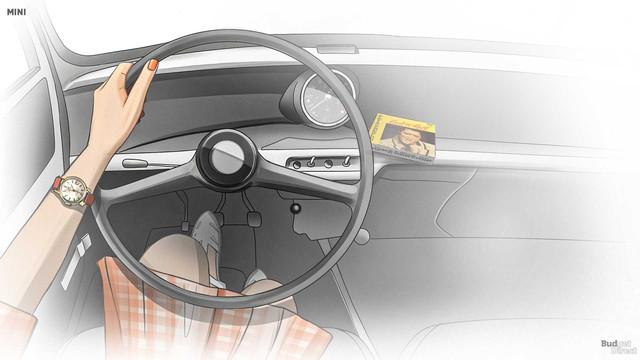 Xem nội thất MINI Cooper tiến hóa qua hàng chục năm qua: Từ không có gì tới quá phức tạp - Ảnh 2.