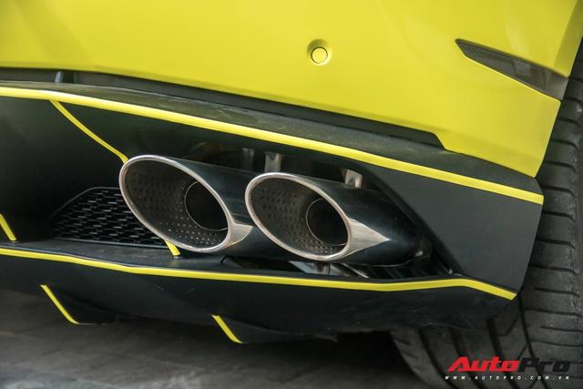 Cận cảnh chiếc Lamborghini Huracan màu vàng neon hàng độc tại Việt Nam - Ảnh 12.