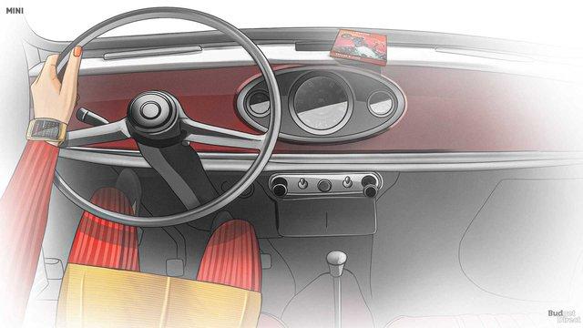 Xem nội thất MINI Cooper tiến hóa qua hàng chục năm qua: Từ không có gì tới quá phức tạp - Ảnh 3.