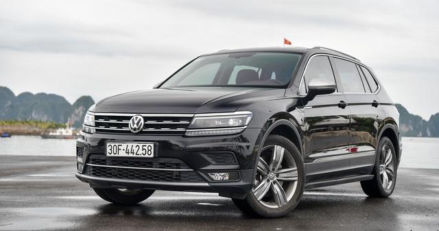 VW Tiguan Allspace giảm giá 40 triệu đồng, đón đầu Mercedes-Benz GLB sắp về Việt Nam - Ảnh 1.