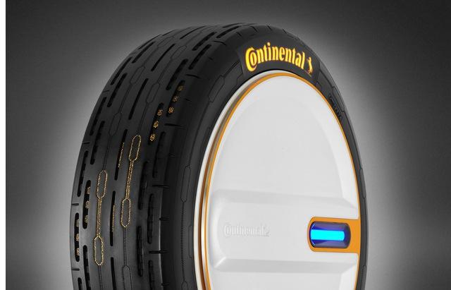 Continental phát triển lốp thông minh tự bơm lại khi thiếu hơi, hoàn hảo cho các chủ xe dư tiền nhưng lười chăm  - Ảnh 3.