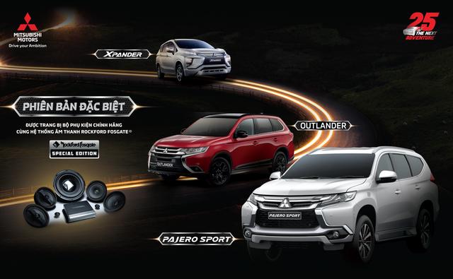 Mitsubishi chính thức tung Outlander, Pajero Sport và Xpander bản đặc biệt tại Việt Nam - Ảnh 1.