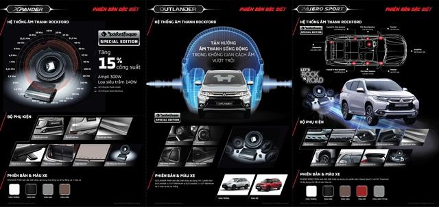 Mitsubishi chính thức tung Outlander, Pajero Sport và Xpander bản đặc biệt tại Việt Nam - Ảnh 2.