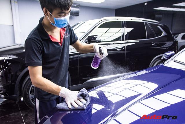 Chủ nhân chi hàng chục triệu đồng làm đẹp VinFast Lux A2.0 tại Hà Nội - Ảnh 7.