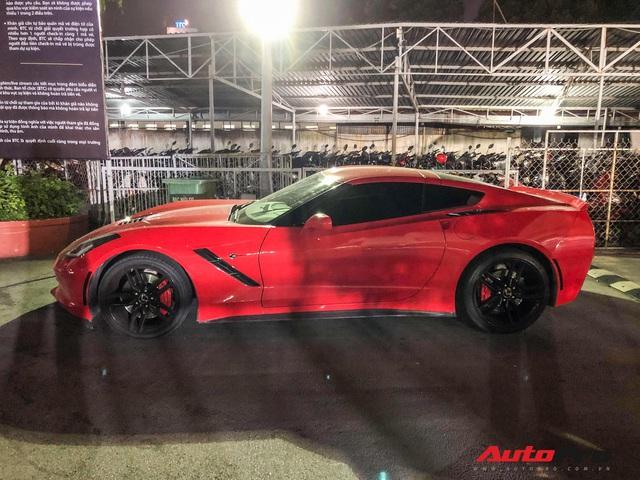 Dân chơi Bến Tre sở hữu nhiều siêu xe nổi tiếng lái Chevrolet Corvette C7 vượt gần trăm km tham dự liveshow của Đen Vâu - Ảnh 3.