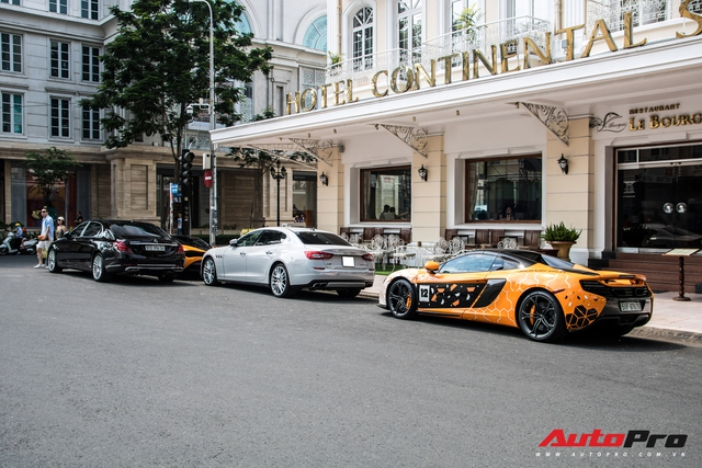 Lái Porsche 911 Carrera S xuyên Việt nhưng Cường 'Đô-la' vẫn sử dụng siêu xe McLaren 720S trong những buổi tụ tập tại TP. HCM