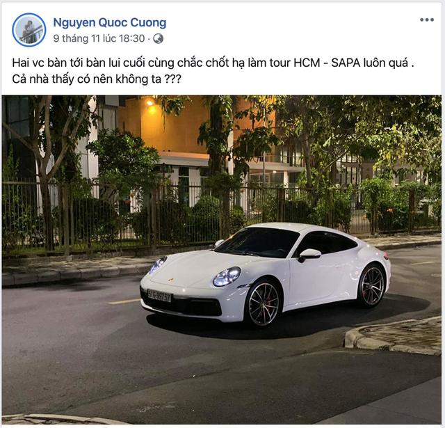 Porsche 911 Carrera S của Cường 'Đô-la' đã tới Hà Nội sau cả nghìn km xuyên Việt chỉ trong hơn nửa ngày - Ảnh 3.