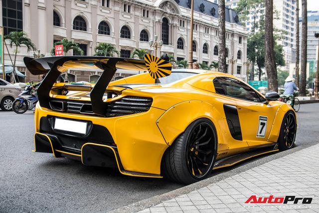 Đại gia Việt chơi lớn thứ hai sau Dương Kon: Mạnh tay chi hai tỷ độ Liberty Walk cho McLaren 650S Spider - Ảnh 12.