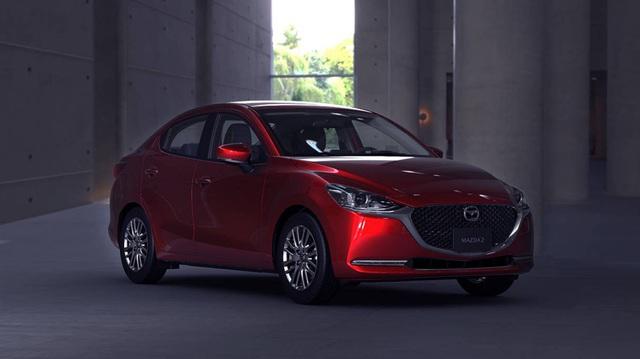 Mazda2 sedan thế hệ mới chính thức trình diện: Thêm mỹ miều để đấu Toyota Vios