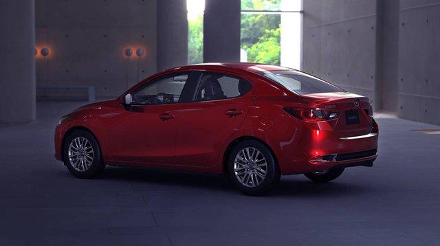 Mazda2 sedan thế hệ mới chính thức trình diện: Thêm mỹ miều để đấu Toyota Vios - Ảnh 2.