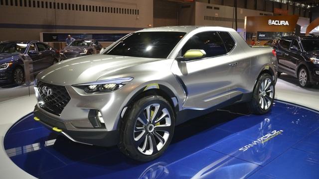 Bán tải Hyundai lộ thêm nhiều thông tin 'nóng'