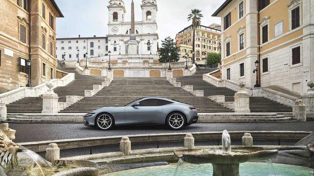 Ra mắt Ferrari Roma - Siêu ngựa đẹp nhất trong nhiều năm qua - Ảnh 1.