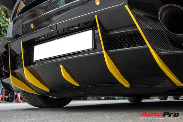 Đại gia Việt bắt trend, lột xác Lamborghini Huracan độ Mansory với ngoại thất màu xi-măng - Ảnh 5.