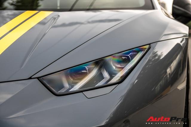 Đại gia Việt bắt trend, lột xác Lamborghini Huracan độ Mansory với ngoại thất màu xi-măng - Ảnh 14.