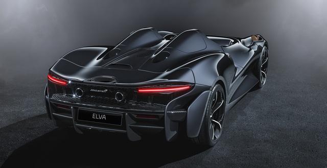 Ra mắt McLaren Elva - Siêu xe không cần kính chắn gió, nhẹ nhất lịch sử McLaren - Ảnh 4.