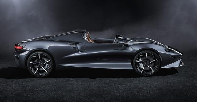 Ra mắt McLaren Elva - Siêu xe không cần kính chắn gió, nhẹ nhất lịch sử McLaren - Ảnh 1.