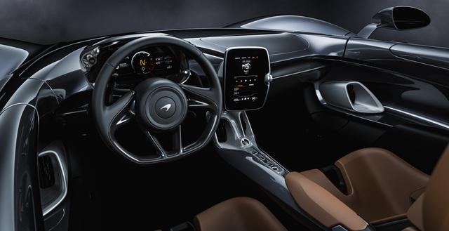 Ra mắt McLaren Elva - Siêu xe không cần kính chắn gió, nhẹ nhất lịch sử McLaren - Ảnh 8.