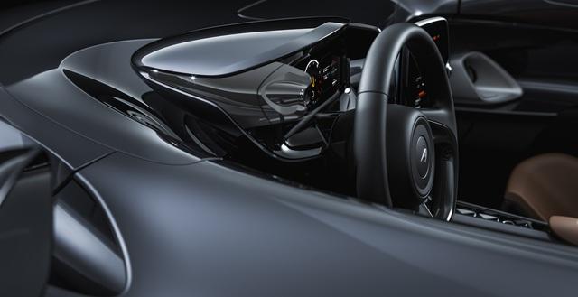 Ra mắt McLaren Elva - Siêu xe không cần kính chắn gió, nhẹ nhất lịch sử McLaren - Ảnh 7.