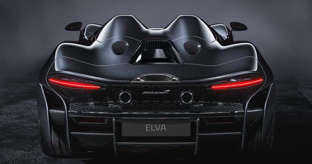 Ra mắt McLaren Elva - Siêu xe không cần kính chắn gió, nhẹ nhất lịch sử McLaren - Ảnh 6.