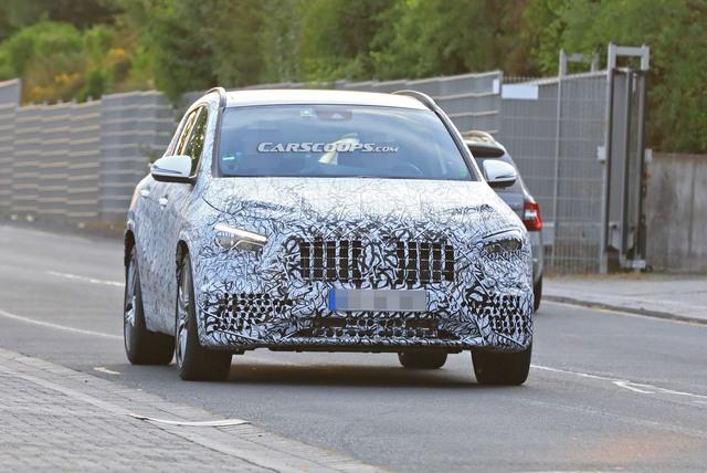 Mercedes-Benz GLA 2020 ra mắt trong vài tuần tới, cạnh tranh BMW X1 - Ảnh 1.