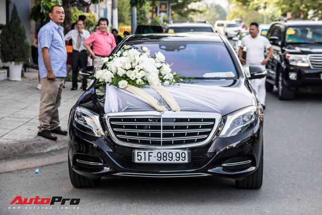 Dàn xe trị giá không dưới 40 tỷ đồng tham gia hôn lễ ca sĩ Bảo Thy và ông xã doanh nhân - Ảnh 2.