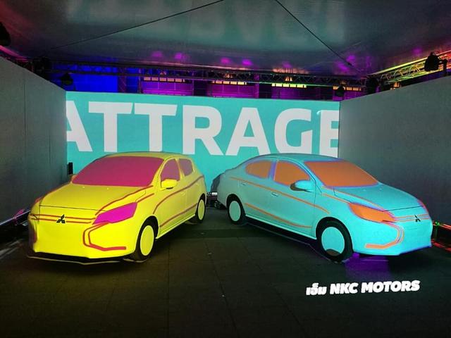 Mitsubishi Mirage và Attrage 2020 với đầu như Xpander lần đầu xuất hiện tại đại lý, sẵn sàng cho ngày ra mắt - Ảnh 1.