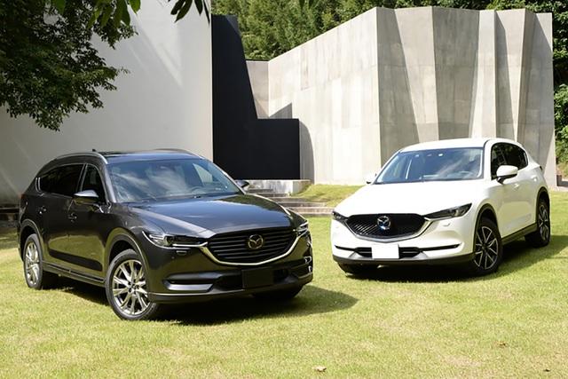 Mazda CX-5 và CX-8 tiếp tục giảm giá sâu, quyết lấy lại chỗ đứng trước Honda CR-V và Hyundai Santa Fe - Ảnh 1.