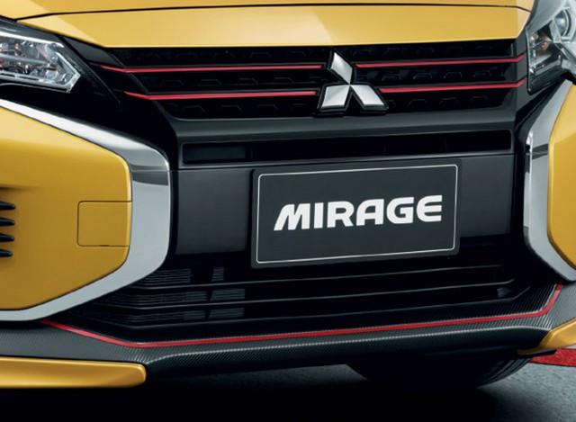 Vừa ra mắt, Mitsubishi Mirage/Attrage mang bộ mặt Xpander lập tức có bodykit ngoại thất hầm hố hơn - Ảnh 2.