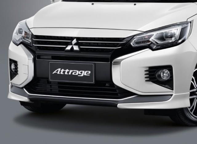Vừa ra mắt, Mitsubishi Mirage/Attrage mang bộ mặt Xpander lập tức có bodykit ngoại thất hầm hố hơn - Ảnh 3.