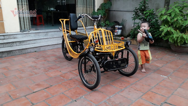 Độc đáo những chiếc xe 2 bánh chạy điện do dân chơi Việt tự chế - Ảnh 3.