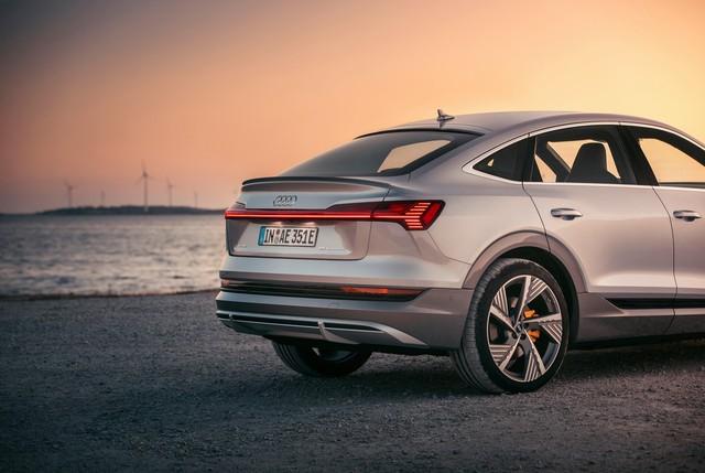 Audi E-Tron từng về Việt Nam sắp ra mắt phiên bản thể thao hơn - Ảnh 6.