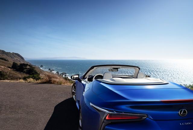 Ra mắt Lexus LC500 Convertible - Mui trần đẹp không góc chết - Ảnh 4.