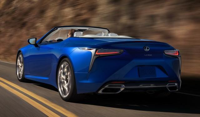 Ra mắt Lexus LC500 Convertible - Mui trần đẹp không góc chết - Ảnh 9.