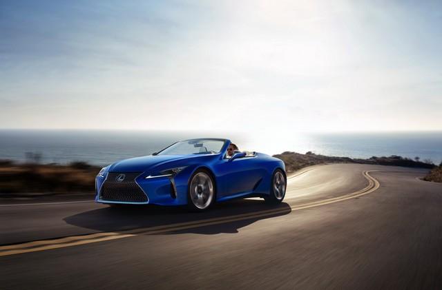 Ra mắt Lexus LC500 Convertible - Mui trần đẹp không góc chết - Ảnh 8.