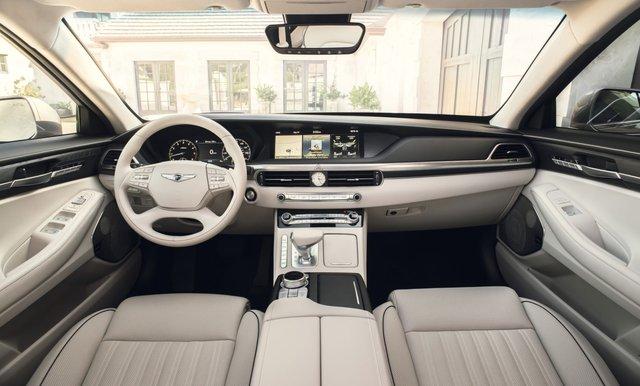 Ra mắt Genesis G90 mới: Tản nhiệt to kém gì BMW, tham vọng đối đầu Mercedes-Benz S-Class - Ảnh 5.