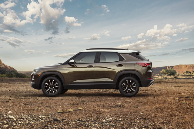 Ra mắt Chevrolet Trailblazer mới: Rẻ hơn cả Trax, gây sức ép tới Toyota Fortuner - Ảnh 4.