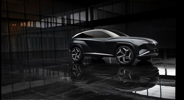 Hyundai Vision T: Bản nháp ấn tượng của Tucson đời mới - Ảnh 5.