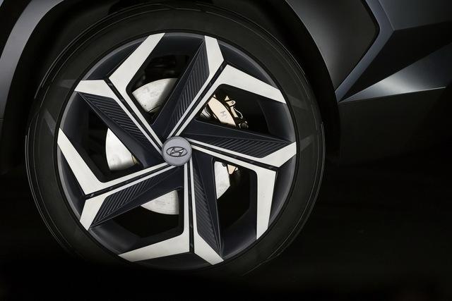 Hyundai Vision T: Bản nháp ấn tượng của Tucson đời mới - Ảnh 10.