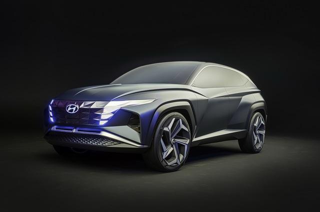 Hyundai Vision T: Bản nháp ấn tượng của Tucson đời mới - Ảnh 1.