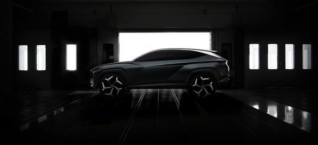 Hyundai Vision T: Bản nháp ấn tượng của Tucson đời mới - Ảnh 3.
