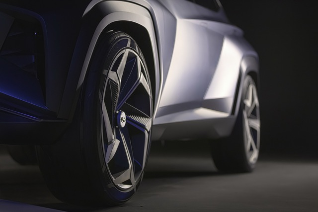 Hyundai Vision T: Bản nháp ấn tượng của Tucson đời mới - Ảnh 12.