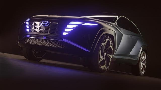 Hyundai Vision T - Bản nháp ấn tượng của Tucson đời mới, Honda CR-V hãy dè chừng