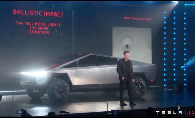 Ra mắt Tesla Cybertruck - Bán tải... bán cho vui - Ảnh 1.