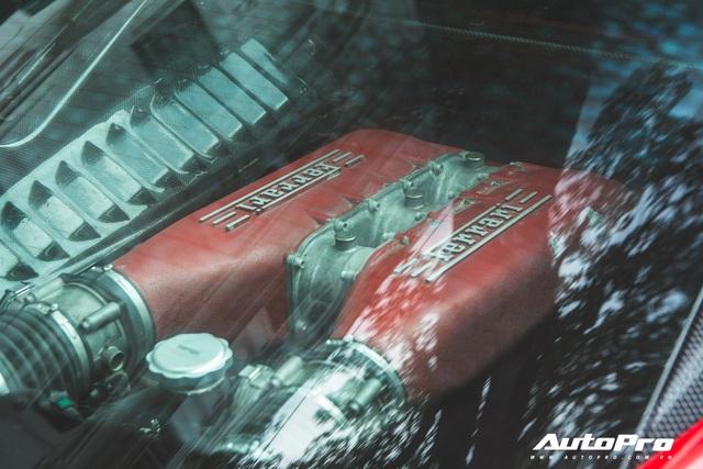 Ferrari 458 Liberty Walk độc nhất Việt Nam tái xuất, tiếng pô khiến bất kì ai cũng ngoái nhìn - Ảnh 15.